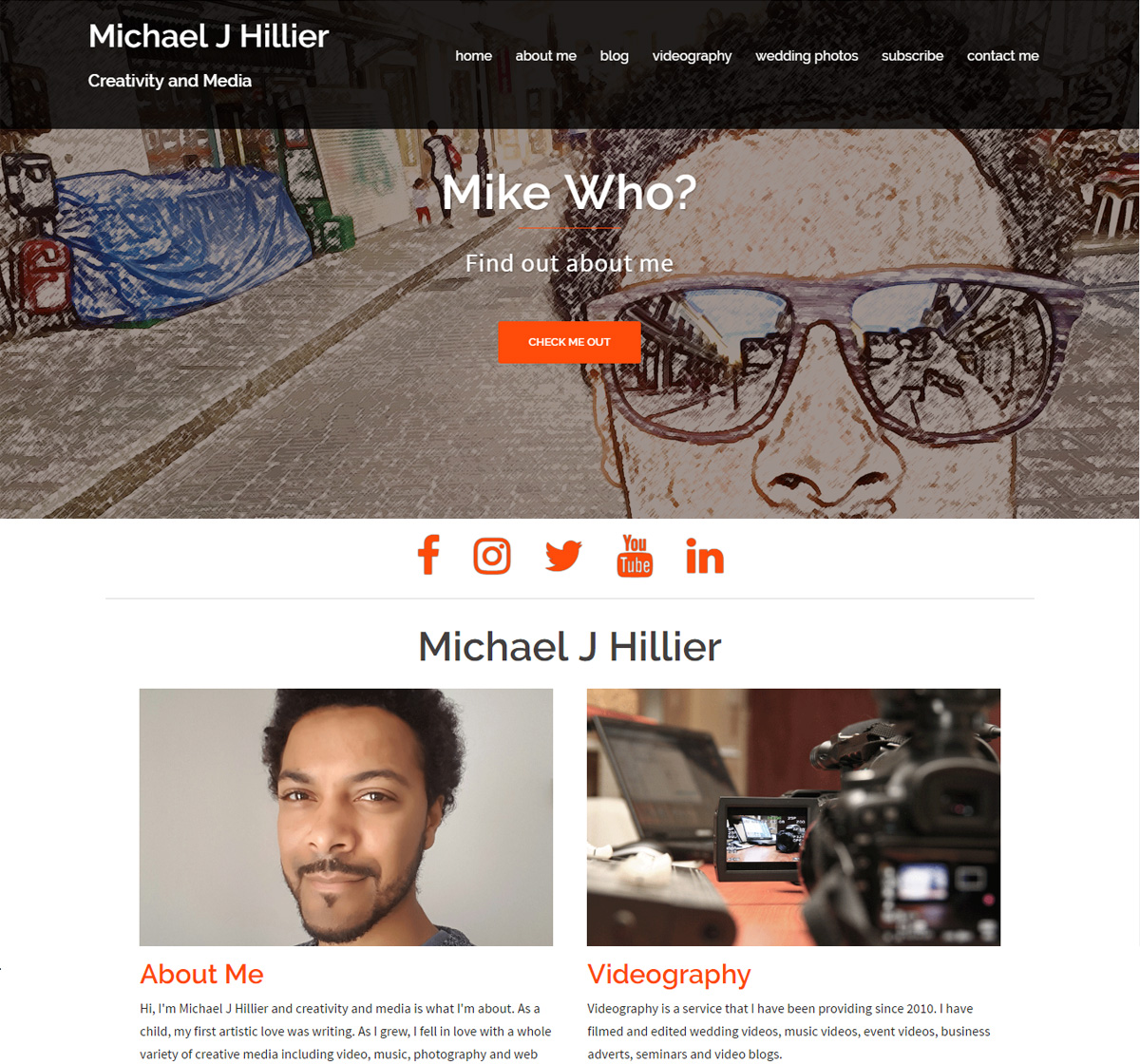 Michael J Hillier Website
