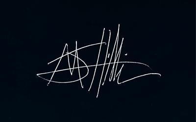 Michael J Hillier Signature
